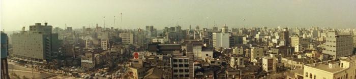 Sing Young People Tokyo 1963 Ginza panorama