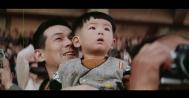 Tokyo Olympics 1964 young boy spectator