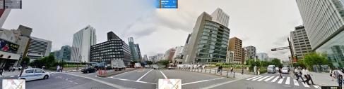Tsukiji River Ginza park 2015