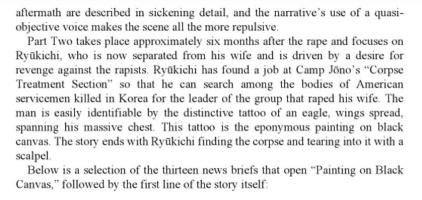Kokura breakout 1950 soldier incident scalpel