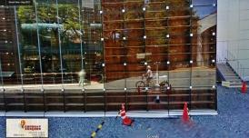 Musashino Art University Library Sou Fujimoto google streetview bike 1