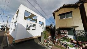 Sou Fujimoto House N Oita garden