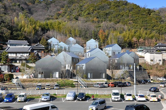 Sou Fujimoto Setonomori Forest houses