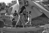 Danchi children Japan public housing 1975