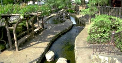 furukawa water park edogawa green road path