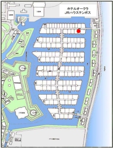 Huis Ten Bosch Resort condominium map