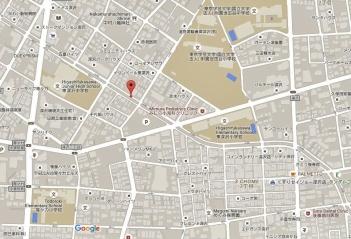 Tokyo river parallel lines map secret