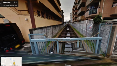 Tokyo water culvert drainage canal