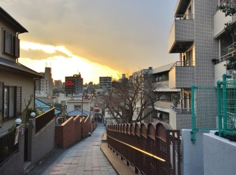 Fujimizaka slope today 2016