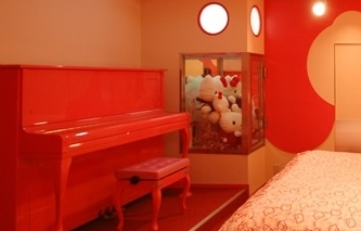 Hotel Candy Hall Japan Love Hotel - Hello Kitty