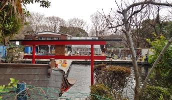 Tsuribori Musashinoen Zenpukujigawa park fishing spot