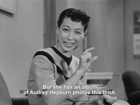 Audrey Hepburn Japan Ozu film 1