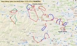 Tokyo Hiking Seibu Line Hiking Maps Hanno Chichibu