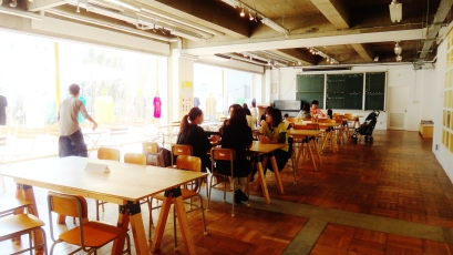 3331 Arts Chiyoda art gallery school cafe
