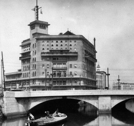 Former Asahi Shimbun HQ Tokyo pre-war