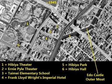 Hibiya Yurakucho Imperial Hotel 1945 Tokyo