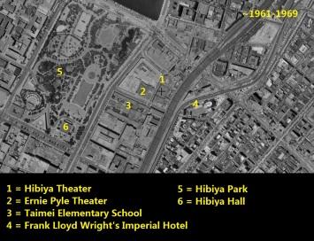Hibiya Yurakucho Imperial Hotel 1961-1969 Tokyo