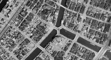 Miyoshibashi Ginza canal bridge 1945-1950