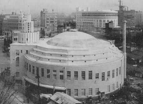 Old Hibiya Theater Yurakucho Tokyo