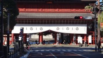 Daimon gate no bike helmet Tokyo