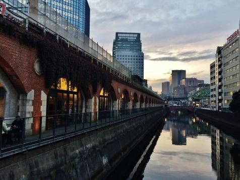 Manseibashi mAAch ecute Kanda River Tokyo