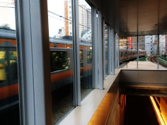 Manseibashi train watching Tokyo