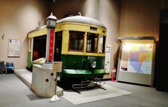 ShinjukuHistoricalMuseum Toden streetcar