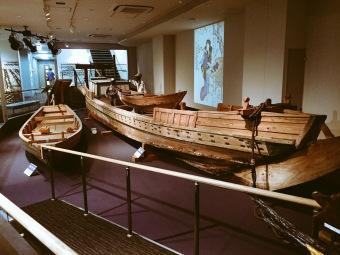 omori seaweed museum nori boat