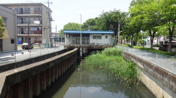 Kasukabe river Bike Parking