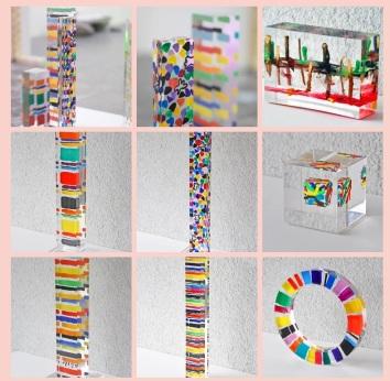 Susi Kramer artist cubes